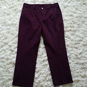 Lauren jeans co Ralph Lauren purple  pants